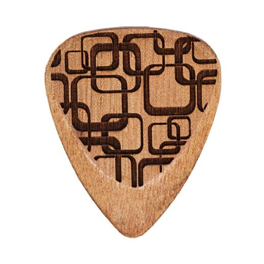 Laser Tones Grip Art Deco 1 Guitar Pick